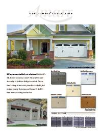 Amarr Oak Summit Brochure