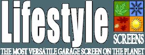 Lifestyle Garage Door Screens Logo