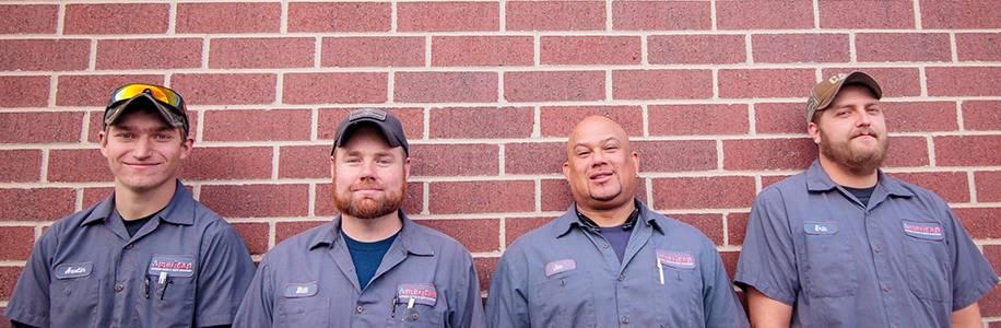 service techs American Garage Door Denver