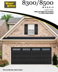 Wayne Dalton 8300 / 8500 Brochure